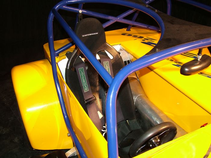 B1 Seat in a Caterham SV