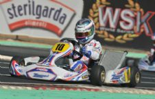 Nyck De Vries wins the first round of the WSK World series in SKF