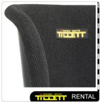 Rental Kart Seats - Fully Covered - Close Up