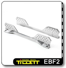 The EBF2 seat brackets for mounting on runners