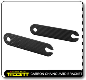 Carbon Chainguard brackets