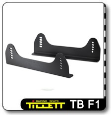 TB F1 Race car seat mounting brackets