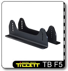 TB F5 Race car seat mounting brackets