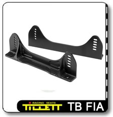 TB FIA Race car seat mounting brackets
