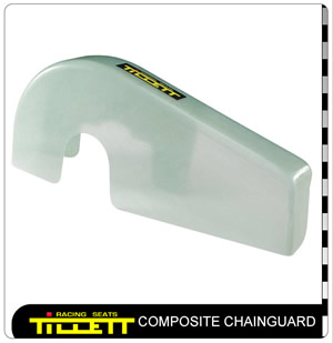 Composite chainguard Rotax/TAG version