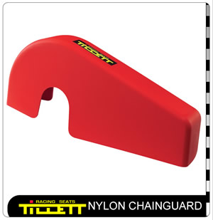 Nylon Chainguard Rotax Red