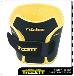 Ribtec with optional chest protector fitted