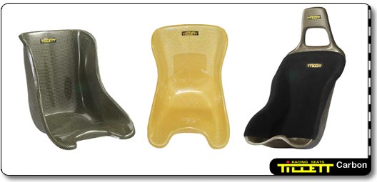 The T5KG Rev. The T10iKG and the T250KG Carbon Racing Seats