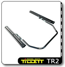 TR2 Adjustable seat runner set