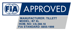 B7 XL FIA accreditation