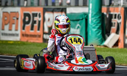 2015 WSK Super Masters series Champion